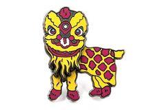 Lion Dance Pin