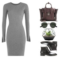 """""""#452"""" by missad3 ❤ liked on Polyvore featuring Alexander Wang, Gianvito Rossi, 3.1 Phillip Lim and Ray-Ban"""