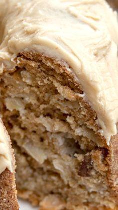 Chunky Apple Walnut Cake Recipe