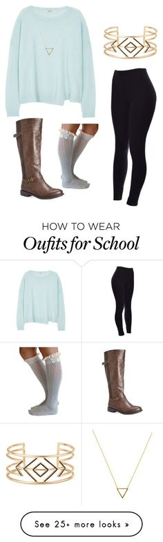 """""""Cute winter school outfit"""" by gymnastsophia on Polyvore featuring J Brand, Stella & Dot, Wanderlust + Co, Avenue, women's clothing, women's fashion, women, female, woman and misses"""