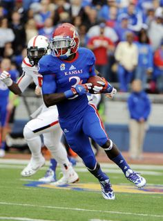 Kansas Jayhawks football uniforms--I liked this combo.