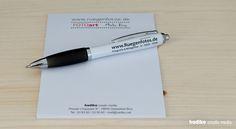 Kugelschreiber, Notizblöcke