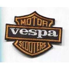 Vespa motor scooters