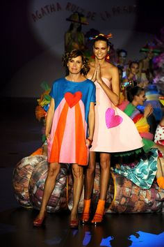 Agatha Ruiz De La Prada Designer Agatha Ruiz de la Prada during the Agatha Ruiz de la Prada Cibeles Madrid Fashion Week Spring/Summer 09 at the IFEMA on September 15, 2008 in Madrid, Spain.