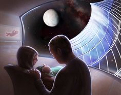 Kendall College of Art and Design of Ferris State University (KCAD) Medical Illustration student Adrianna Allen has been awarded the grand prize in the 2016 National Space Society (NSS) Space Settlement Student Art Contest.