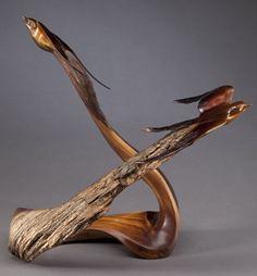 Korneplastika. Sculptor J Christopher White