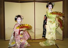 Kyo-mai is a classic Japanese dance of Inoue school.  It's only one school in Gion-kobu.