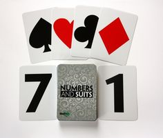 MindStart Numbers and Suits Game is great for #Alzheimer's #Dementia.  They offer a simpler version of traditional playing card and offer many variations of use - great for those who enjoyed card games or worked with numbers.  Cards can be used in an individual activity or in a small group. #AlzActivity