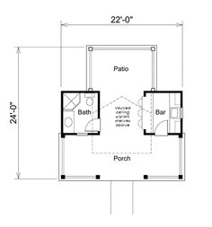 poolside cabanna plans | Summerville Pool Cabana Plan Plan 009D-7524 | House Plans and More
