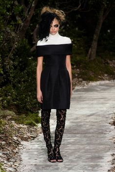 Chanel at Couture Fashion  Week Spring 2013