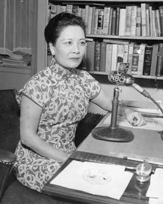 "TIL The former first lady of China called ""most powerful woman in the world"" by Life Magazine in 1931 spent the rest of her life in a Gracie Square apartment on the Upper East Side of Manhattan and died at age 105 in 2003 Asian History, Women In History, Japanese History, Madame Chiang Kai Shek, Elegant Man, Political Figures, Oriental Fashion, World Leaders, Military History"