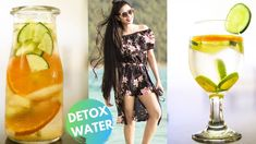 6 Detox Water Recipe For Clear Skin, Flat Stomach, Bloating & Weight Los. Flat Tummy, Flat Stomach, Natural Hair Care, Natural Hair Styles, Detox Water For Clear Skin, Curls No Heat, Hair Secrets, Hair Growth Oil, Water Recipes