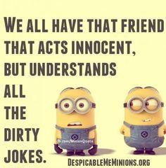 I am that friend...
