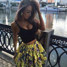 Summer Outfit/Top/Skirt