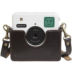 Polaroid Custom Designed Vintage-Inspired Genuine Leather Cradle for Polaroid Socialmatic - Removable Neck Strap Included - Brown Polaroid http://www.amazon.com/dp/B00QJ4CB2G/ref=cm_sw_r_pi_dp_VTQQub0H0B3MY