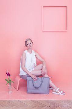 Simple bag grey