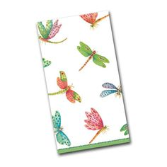 Dragonflies Paper Guest Towels