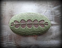 Crocheted Stone Handmade One of a Kind Unique Decorative