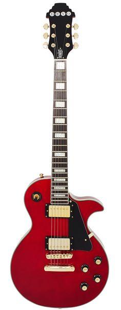 Eastwood Guitars DEVO Whip It Red Full Front