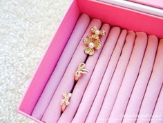 Make any Keepsake Box into an awesome Jewelry Box