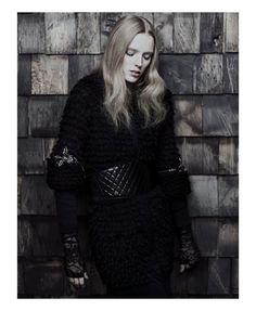 Gothic Couture Captures - The Pulp Magazine Chanel Editorial Stars Darkly Glamorous Kristen (GALLERY) The Originals Rebekah, Chris Nicholls, Black Wardrobe, Punk Princess, The White Stripes, Couture, Dark Beauty, Plein Air, Festival Outfits