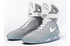 Back to the future with these Nike 'McFly' 2011 Mag sneakers!