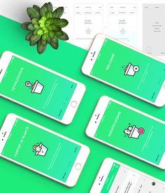 Plantapp - U Plant App on App Design Served