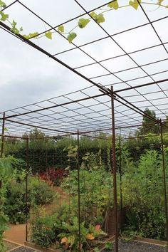 Le fer a béton en association avec le treillis soudé deux matériaux du bâtiment pour transformer un jardin en un espace de création des plus adaptés pour les plantes grimpantes. Construire une pergola d'une grande simplicité en quelques heures ou une...
