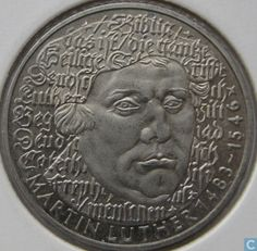 1983 G 500th birthday of Martin Luther, Germany