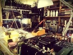 Audio workshop. Second hand & vintage. Flea market in Malmö, Sweden.