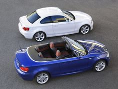 E82 BMW 1-series Cabrio and Coupe