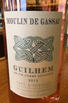 2015 Moulin de Gassac - Rose Pays d'Herault