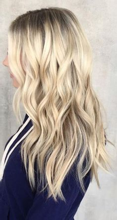 rooty and platinum blonde blend