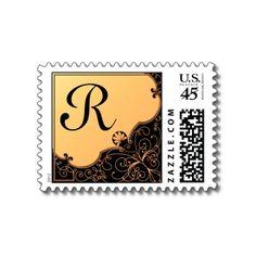 Monogram : R Postage