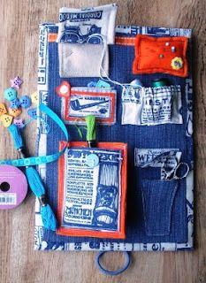 Make your own travel sewing kit with this brilliant project from Wendy Massey of Handmade Harbour. Sewing Hacks, Sewing Tutorials, Sewing Crafts, Sewing Projects, Sewing Kits, Sewing Ideas, Sewing Patterns, Sewing Tools, Easy Projects