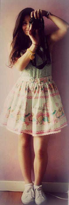 Love my skirt