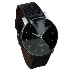Good Luxury Quartz Sport Military Stainless Steel Dial Leather Band Wrist Watch For lover relojes de las mujeres JN7 #women, #men, #hats, #watches, #belts, #fashion, #style