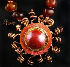 Aztec Sun Necklace — Jewelry Making Journal