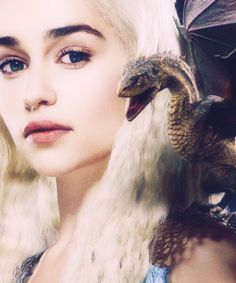 daenerys targaryen - I know she's not a real person (of course) but I just love the character <3