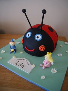 Ben and Holly themed cake