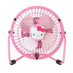 Hello kitty Mini Electric fan SANRIO from JAPAN