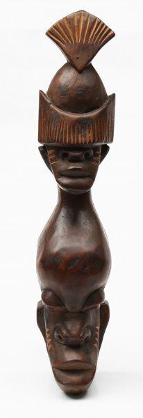 """Otávio Bahia. """"Logun Edé do Reino do Congo"""". 37x8 cm."""