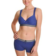 Women's Athletic Underwear - Angelina Cotton Bra or Boxer >>> Visit the image link more details.