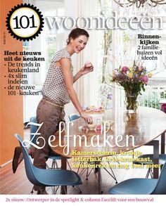 Cover Dutch creative interior magazine 101Woonideeen 04-2012