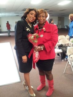 My Red Jacket Debut for Mary Kay..  with my Mary Kay Director, Dwauna Maura 03/2013!