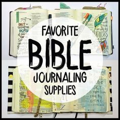 My Favorite Bible Journaling Supplies - VIDEO - By Taz and Belly