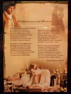 Willkommen und Abschied de Johann Wolfgang von Goethe