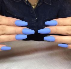 Check out the lovable, quirky, cute and exceedingly precise designs that are inspiring the freshest nail art tendencies and inspiring the most well liked nail art trends! Matte Pink Nails, Coffin Nails Matte, Pastel Nails, Blue Nails, Acrylic Nails, Acrylics, Airbrush, Trendy Nail Art, Classy Nails