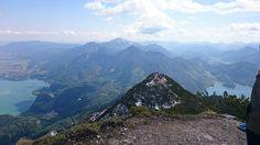 Herzogstand #Kochelsee #Walchensee #Bayern #wandern #Bavaria #hiking