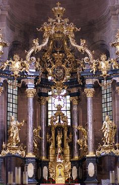 Worms, Dom St. Peter, Hochaltar (St. Peter's Cathedral, high altar)